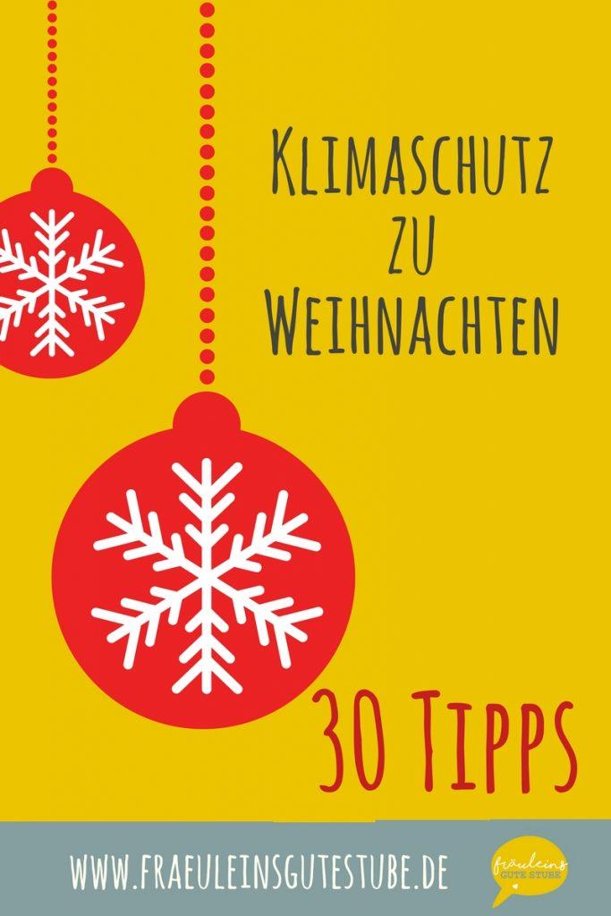 Klimaschutz zum Fest 30 Tipps für Grüne Weihnachten